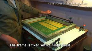 home made pcb by the method of screen printing youtube