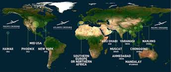 Virgin Atlantic Route Map by Route Announced For Solar Impulse 2 U0027s Round The World Trip Virgin