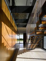 Wooden Wall Coverings by Wood Stairs Design Ideas With Iron Hand Railings Cable Wire