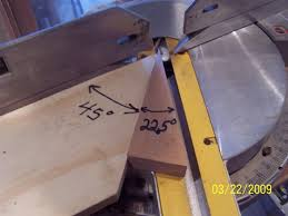 cutting angles on a table saw angles and setting on the miter saw woodworking talk woodworkers