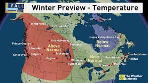 Montreal Canada Map News Winter Preview See When Cold And Snow Arrive For You The