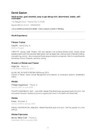 welder fitter resume
