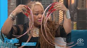 ayanna williams holds record for longest fingernails