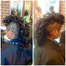 images of kids hair braiding in a mohalk natural hair curly hair mohawk curly mohawk braids design