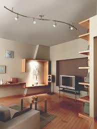 livingroom lights simple track lighting in living room beautiful home design