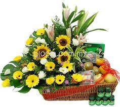fruit basket arrangements flower shop in kulim florist online gift delivery sending flowers