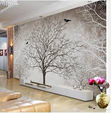 fashion customized hd retro black and white tree tv wall fashion customized hd retro black and white tree tv wall decoration painting mural 3d wallpaper 3d wall papers for tv backdrop wallpaper hd for desktop