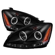 nissan altima 2005 headlight assembly amazon com spyder auto pro yd na02 ccfl bk nissan altima black