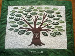 plush design ideas family tree wall hanging embroidered quilt for