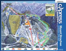 Little Creek Base Map Trail Maps And Mountain Stats U2013 Cypress Mountain Resort