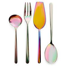 iridescent serving utensils home furnishings pinterest serving