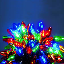 Fairy Lights Outdoor by Outdoor C6 Christmas Fairy Lights Multi Colour Leds