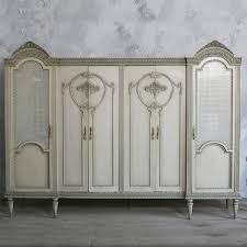 Armoire With Glass Doors 37 Best Wardrobes Images On Pinterest Antique Furniture Armoire