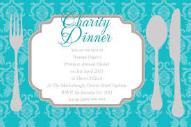 Sample Of An Invitation Card Fun Design Of Fundraiser And Charity Dinner Invitation Card Sample