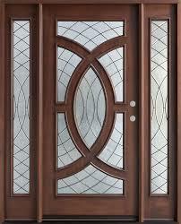 Exterior Doors Cincinnati Entry Door In Stock Single With 2 Sidelites Solid Wood With