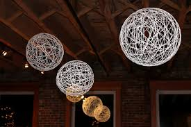 Diy Ball Chandelier Diy Chandelier String Thesecretconsul Com