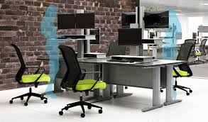 have you considered a sit stand desk for ergonomic or healthy