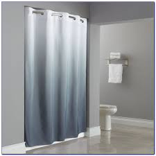 hookless shower curtains hookless hbh01ebm01 white embossed moire hookless shower curtains bed bath and beyond curtain home