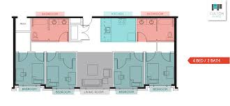Boston College Floor Plans by Fulton Place Gr Floor Plans 1 2 3 U0026 4 Bedroom Plans