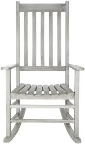 White Patio Rocking Chair by The Well Appointed House Luxuries For The Home The Well