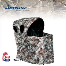 tent chair blind ameristep one chair blind real tree ap ameristep real tree