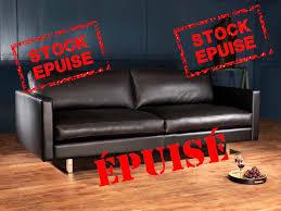 canapé disponible immédiatement canape cuir scandinave votre canapé en cuir design scandinave