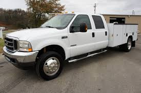 2003 Ford F 450 Powerstroke Diesel Utility Bed Youtube