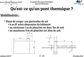 bureau de dessin en b iment la gestion des ponts thermiques dans les bâtiments pdf