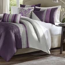 Purple Velvet Comforter Purple Bedding Sets You U0027ll Love Wayfair