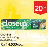 Pasta Gigi Closeup Terbaru promo harga up pasta gigi terbaru minggu ini hemat id