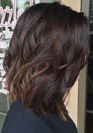 lob haircut dark wavy hair this is it fall 2016 medium dark brown hair with subtle