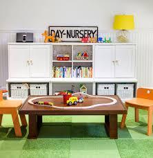 Land Of Nod Desk Bright Bold Playroom Design Honest To Nod