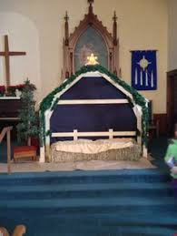 stable for nativity nativity play