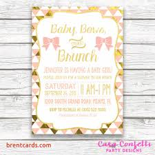 baby brunch invitations baby shower brunch invitations free card design ideas