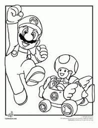 printable jigsaw puzzles to cut out for kids mario bros 9 coloring