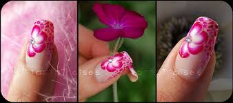 the bloomin u0027 couch one stroke nail art