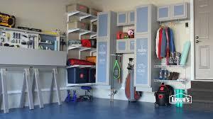 Garage Organization Idea - shelves interesting garage organization lowes garage