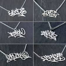 Personalized Name Pendant Personalised Silver Name Necklaces Personalised Gold Silver