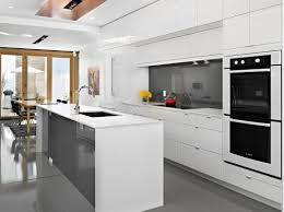 Black And White Kitchens Ideas Photos Inspirations by Kitchen White Modern Kitchen Decorating 15 Modern White Kitchen