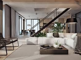 modern home interior colors interior modern interior with a coastal view home design