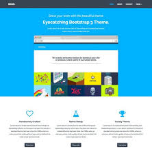 20 minimal bootstrap templates design shack