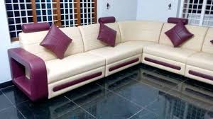 Leather Sofa Sets PU Corner Leather Sofa Set Manufacturer From Kochi - Corner leather sofas
