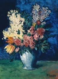 cubism flower painting paul cezanne artble
