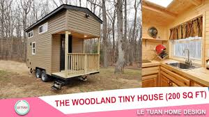 the woodland tiny house 200 sq ft tiny house town tiny house