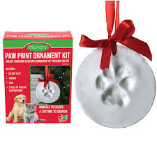paw print ornament kit