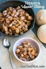 a lot of recipes call for apple pie filling which isn t low carb