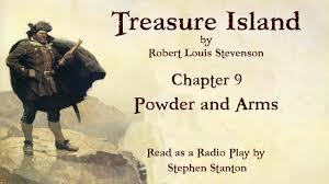 treasure island book report treasure island chapter 9 powder and arms youtube