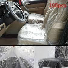 housse plastique siege auto protection plastique siege cuir voiture 100 x jetable couvre housse