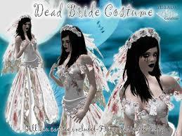 Corpse Bride Costume Second Life Marketplace Dead Bloody Bride Costume Corpse Bride
