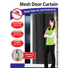 Jml Door Curtain by Mesh Door Magic Curtain Magnetic Snap Fly Bug Insect Mosquito